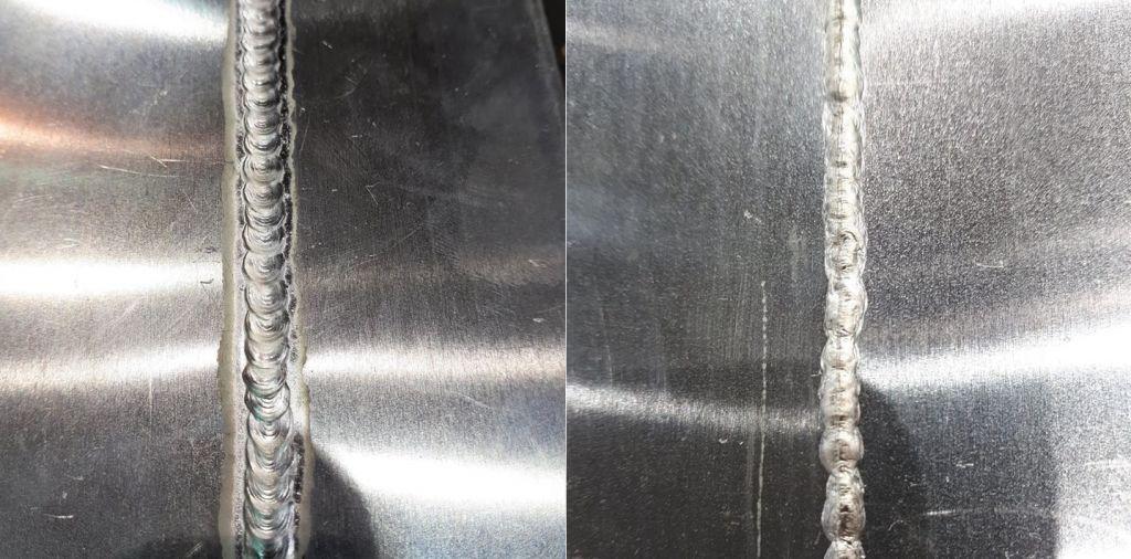 MIG aluminium 1mm